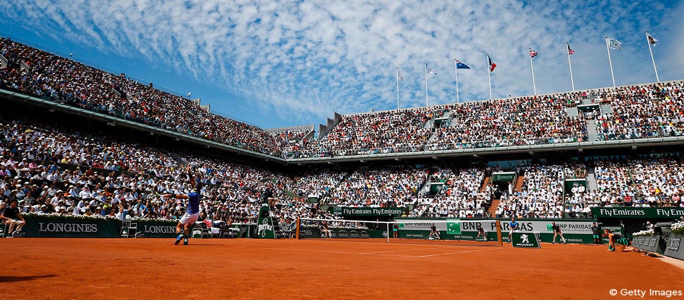 Eurosport und HD+ präsentieren Roland-Garros in UHD HDR